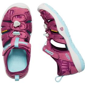 Keen Moxie Sandal Sandals Kids Red Violet/Pastel Turquoise